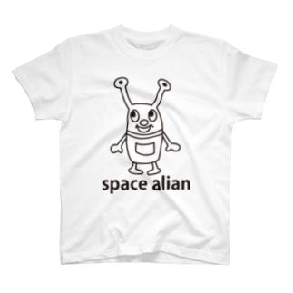 スペースエイリアン T-shirts