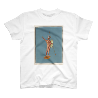 J. Jeffery Print Galleryのポンペイ遺跡 裸の戦士 T-shirts