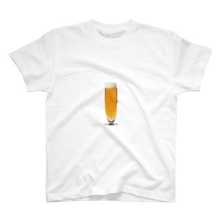 伊達政宗麦酒グラス T-shirts