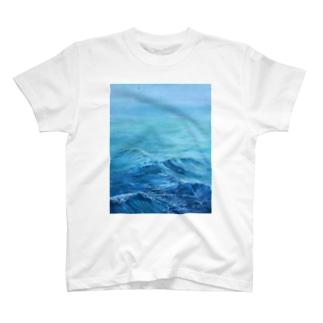 Float(浮かぶ) T-shirts