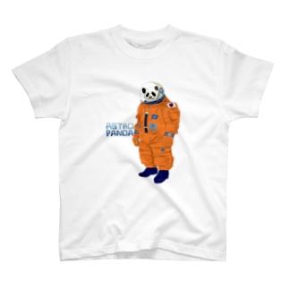 circle and dropsのastropand orange T-Shirt