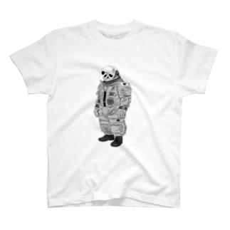 astropanda mono T-shirts
