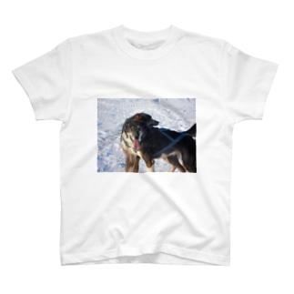 ドヤァ。顔凍ってるけどドヤァ。 T-shirts