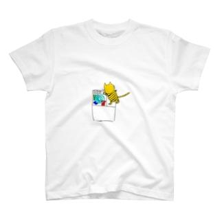 洗濯猫ジュリ T-shirts