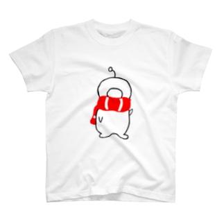 マフラーデッパリ T-shirts
