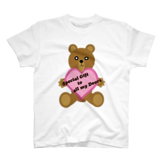 ハートのクマ T-shirts