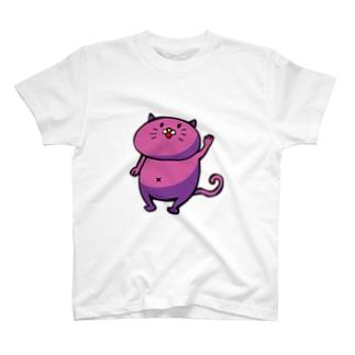 あいさつするぬこである T-shirts