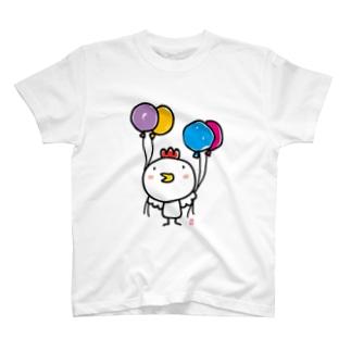 にわとりひよさん T-shirts