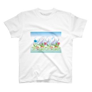 トロピカル・オーシャン T-shirts