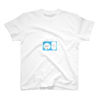 サンクスひよこ(水色) T-shirts