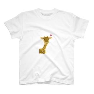 もにもにきりん T-shirts