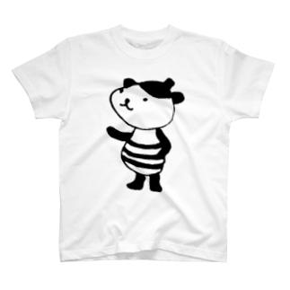 はちみつ モノクロ T-shirts