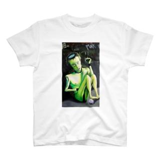 Hand-80's PUNKS T-shirts