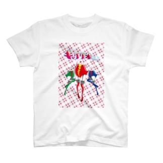 キャクリオちゃん集合 T-shirts