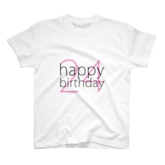 happy24 no2 T-shirts