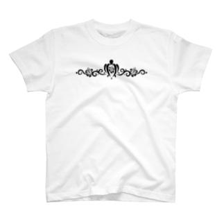 Hawaiian TATOO #01 Black T-shirts