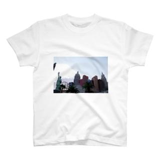 M.MORIのLas Vegas NewYork NewYork T-shirts