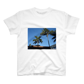 M.MORIのLos Angeles Malibu Palm Tree T-shirts
