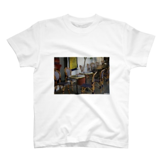 Los Angeles Labrea Cafe T-shirts