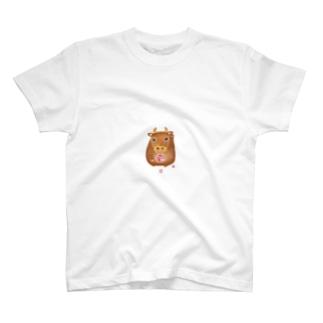 ちえこさんの干支せとら_丑 T-shirts
