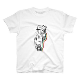 にじおじさん T-shirts