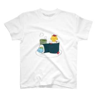 すしねこ★sushineko T-shirts