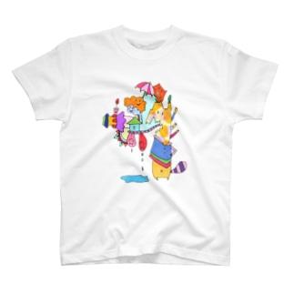 みずもれちゃん T-shirts
