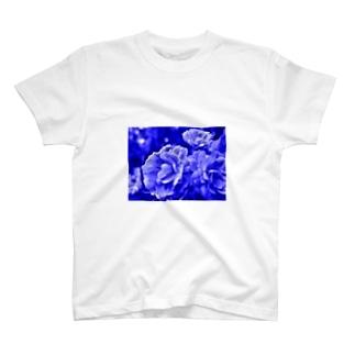 Blue Flower T-shirts
