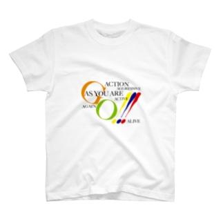 L-cotのGO T-shirts