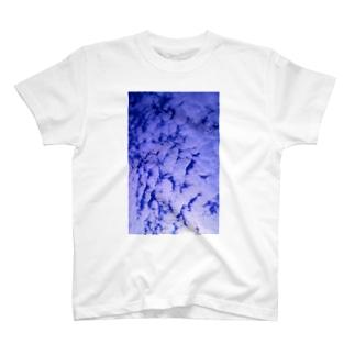 ウロコ空 T-shirts