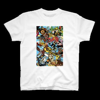 CYBERDYNEのinsigno_characters T-shirts