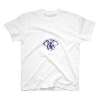 ひとみの宇宙(big) T-shirts