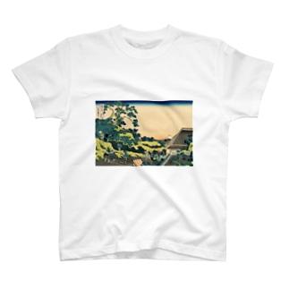 東都駿臺/葛飾北斎 T-shirts