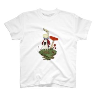 白ウサギ T-shirts