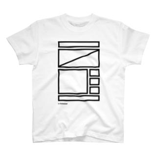 ワイヤーフレームお試し BK T-shirts