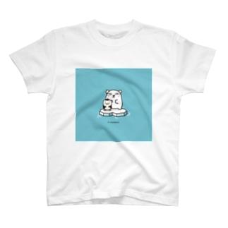 シロクマペンギン T-shirts