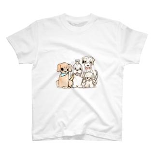 わん仔は人の心を写します! T-shirts