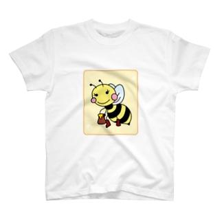 タカエラのはち(メス) T-shirts