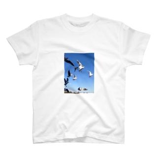 dans le ciel T-shirts