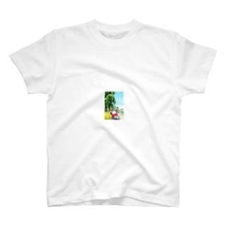 岩手のほほえみ地蔵さん T-shirts