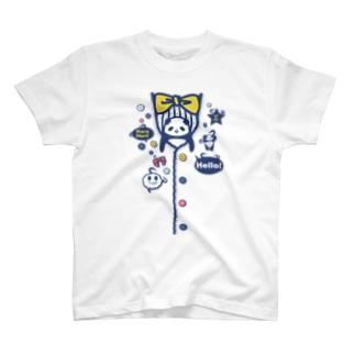 ぽけっと★ぱんだ-今度は懐!?(だまし絵)Vr3 T-shirts