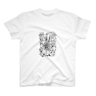 不思議の国のアリス-ハードモード T-shirts