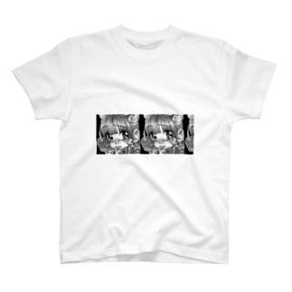 牛の子赤面 T-shirts