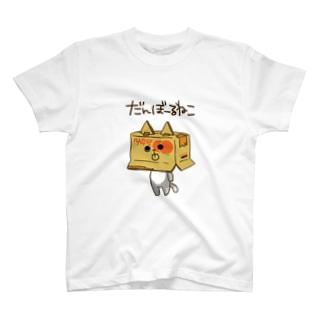そらのダンボールねこ T-shirts