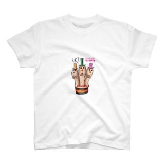 シッテルツモリン T-shirts