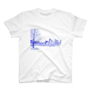 古屋智子(TomokoFuruya)のCentral Park T-shirts
