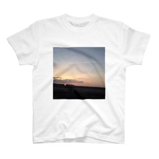 飛行機雲Tシャツ T-shirts
