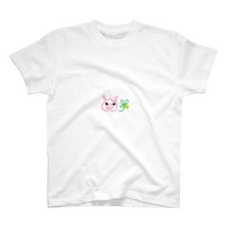 しあわせピッグ T-shirts