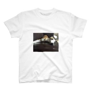 アツオのリラックスタイム T-shirts