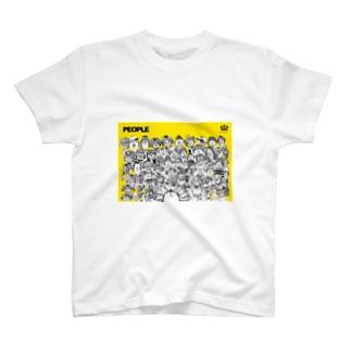 池田蔵人のpeople T-shirts